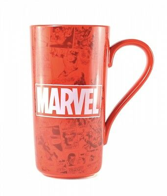 Marvel Comics Boxed Latte Coffee Tall Ceramic Mug Official Product