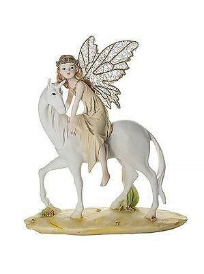 Beautiful Fairy and Unicorn Ornament Figurine Gift for Girls