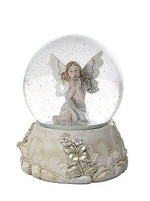 Beautiful Fairy Snow Globe Ornament Gift for Girls Kids or Adults