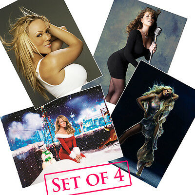 Mariah Carey HQ Posters A4 NEW Touch My Body Me I Am Obsessed Without You