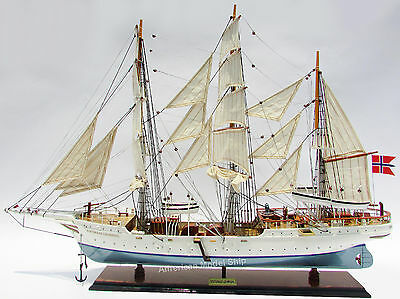 "STATSRAAD LEHMKUHL Tall ship 36""- Built Wooden Model New"