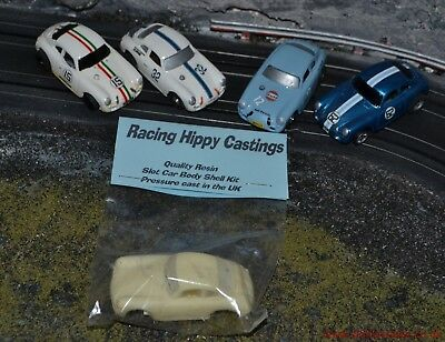 HO slot car Resin Body Outlaw Porsche 356a kits or complete cars T Jet or AFX