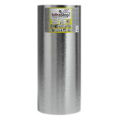 "InfraSto® 48"" x 100' Single Bubble Reflective Foil"