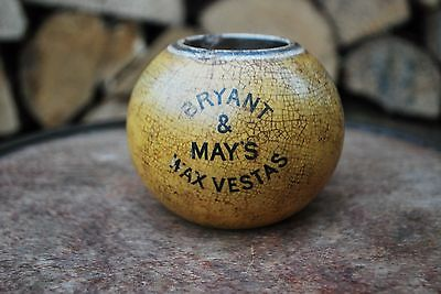 Victorian Bryant and Mays Wax Vesta Match Holder