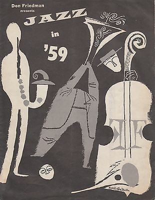 0519 Vintage Music Art Poster - Jazz In '59