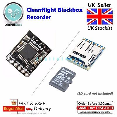 OpenLog Cleanflight Blackbox SD Card Flight Data Recorder - Naze32 FPV Minim OSD