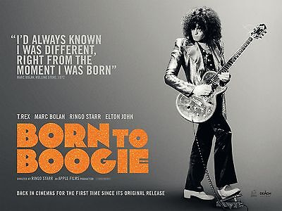 0530 Vintage Music Art Poster - T. Rex Born To Boogie