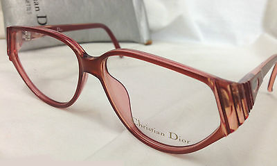 VINTAGE CHRISTIAN EyeGlasses GLASSES 2373 Brown Red Frame ROUND CAT EYE