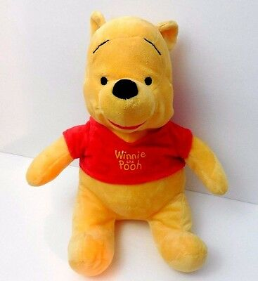 "2010 Disney Kohls Cares Kids 12"" Winnie Pooh Bear Plush Soft Toy Stuffed Animal"