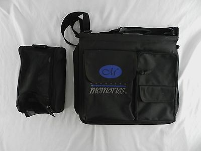 Creative Memories Carrying Travel Case Messenger Bag & Small Tool Bag