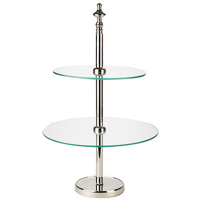 NEW OneWorld Two Tier Cake Stand