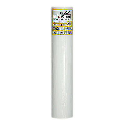 "InfraStop® 48"" x 25' Double Bubble White Reflective Foil Insulation"