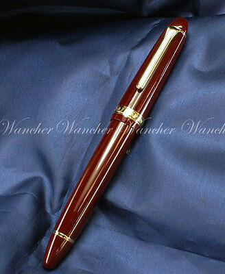 Sailor 1911 Profit Standard Classic Rouge Plume Or 14K Gold Red Fountain Pen