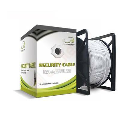 6 Core Security Cable 7/0.20mm-WHITE-300m
