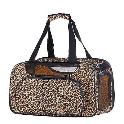 Pet Dog Carrier Airline Approved Travel Bag Yorkie Puppy Cat Kitten Cage Tote