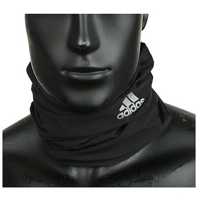 adidas 2016 Unisex Climalite Neck Warmer Running Wrap OSFM Fitness Black S94189