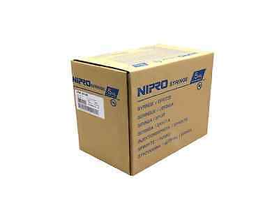 Box of 100 5ml / 5cc Sterile Syringe only with Luer Lock Tip Latex Free