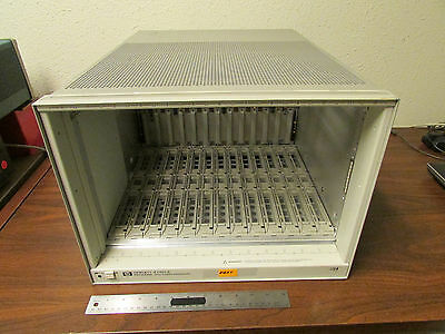 HP Agilent E1401A High Power VXI Mainframe 13 Slots