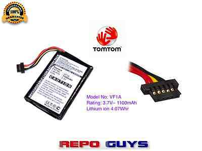 Tomtom  Vf1A  Battery For Go 740 750 950 Gps Live Tm Vf1A Ahl03711012  - New