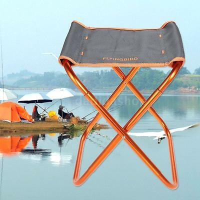 Portable Outdoor Foldable Chair Stool Camping Fishing Beach Picnic Barbecue U0D3