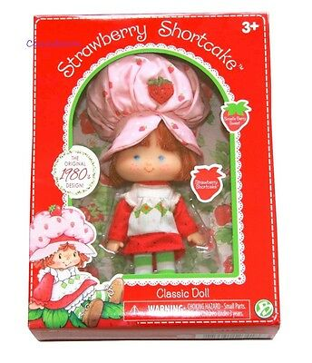 Strawberry Shortcake Doll Classic 1980 Reproduction NEW - LAST ONES!!