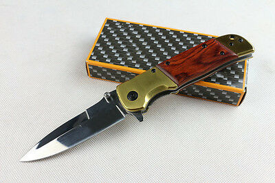 Browning DA69 Polished Surface Mirror Blade Camping Folding Knife Hunting AUSSIE