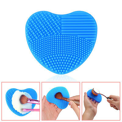 Mini Makeup Brush Cleaner Silicon Pad Scrubber Cleaning Tool Cosmetic Foundation
