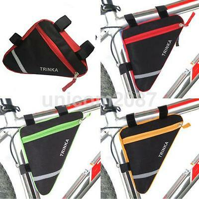 New Bycicle Frame Pack Pannier Front Tube Bag Cycling Bike Frame ...