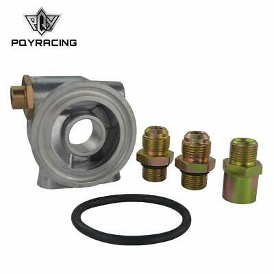 """Oil Cooler Filter Sandwich Plate + Thermostat Adaptor An10 Fittings 3/4"""" 16-Unf"""
