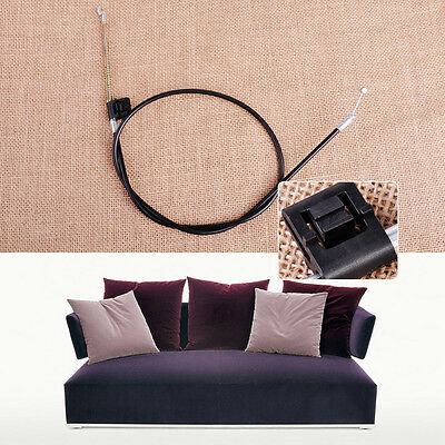 Metal Recliner Chair Sofa Handle Cable Couch Release Lever Replacement Cable New