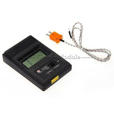 Newest TM-902C Digital LCD K Type Thermometer Single Input + Thermocouple Probe
