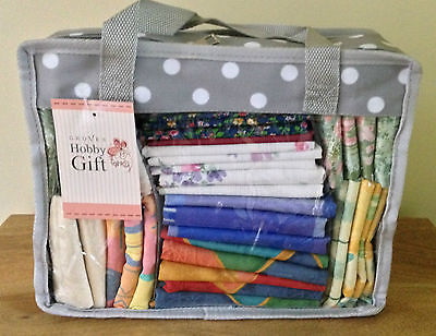 FAT QUARTER STORAGE BAG Red or Grey Spot Available BNWT