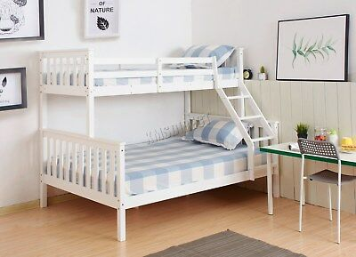 WestWood NEW Detachable Bunk Beds - Wood Frame Children's Bed No Mattress