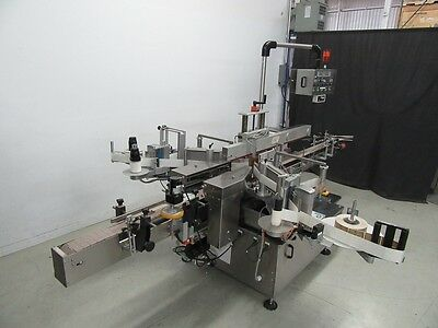 CLI front and back labeler with wrap around model UNI-510 (USED TESTED)