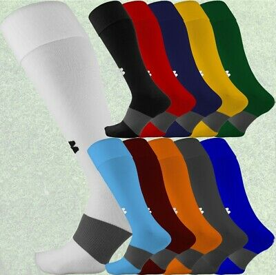 Under Armour UA Over the Calf Soccer Socks, Black, Red, White or Royal 1264790