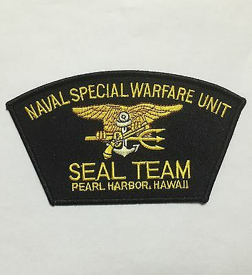 Us Naval Special Warfare Unit Seal Team Pearl Harbor Hawaii Patch -1029