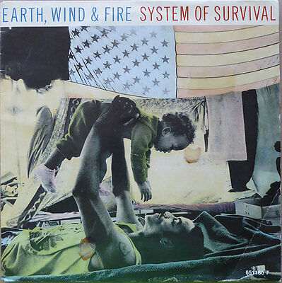 """7"""" Earth, Wind & Fire - System Of Survival - Europa 1987 - NM"""