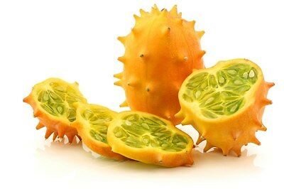 8 horned melon seeds KIWANO Very unusual fruit Rich in antioxidants Rare African