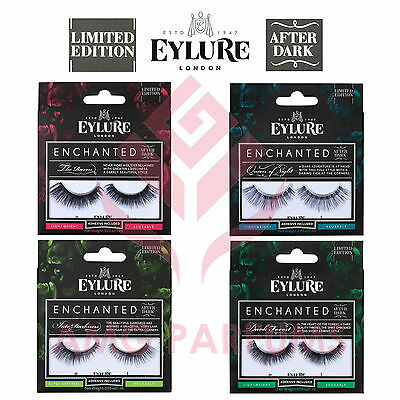 Eylure Enchanted After Dark Limited Edition Ciglia Finte Adesive Riutilizzabili