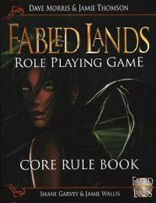 Fabled Lands Role Playing Game Core Rule Book RPG C7 Softcover