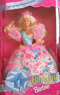 Birthday BARBIE Doll She's The Prettiest Present of All! (1994)