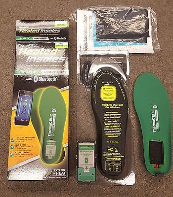ThermaCell ProFlex HEAVY DUTY Heated Insoles LARGE (M7.5-9, W8.5-10) - PFHD-L