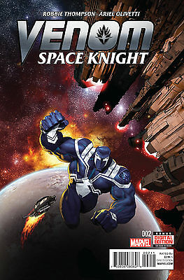 Venom Space Knight #2 Marvel Comics 2016