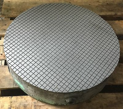 """Challange Precision Surface Lapping Plate Round 18"""" Dia Industrial"""