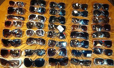 Women' sunglasses Lot Of 40 pair New Assorted Desinger styles Wholesale boutique