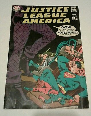 Justice league of america 75 black canary joins (DC, 1969) VG
