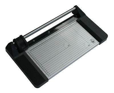 """Brand New 14"""" 350mm Manual Rotary Photo Paper Cutter Portable Trimmers +1 Blade"""