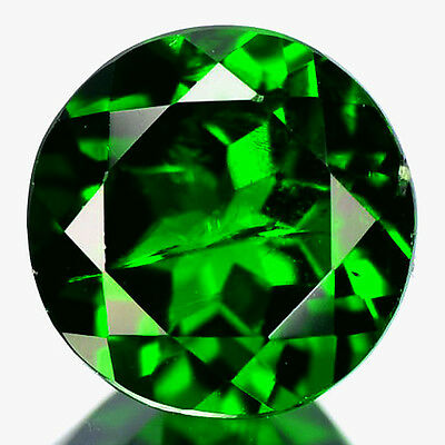 1.56 Cts Sparking Rare Russian Green Chrome Diopside Natural Gemstone