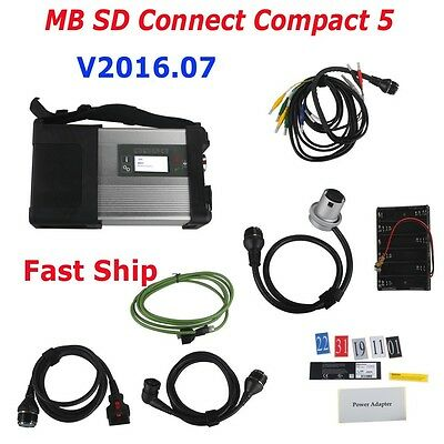 Neu V2016.07 MB SD Connect Compact 5(SD C4) Star Diagnosis with WIFI Fast Ship
