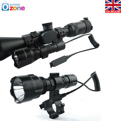 FOR AIR RIFLE/RIMFIRE HUNTING LAMP/LIGHTTactical C8 Q5 800 LM3 Modes Torch